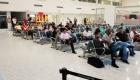 Pasajeros del vuelo inaugural de la ruta Bucaramanga - Cartagena operada por VivaColombia